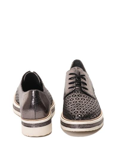 Tamaris Pantofi cu particule stralucitoare si perforatii Femei