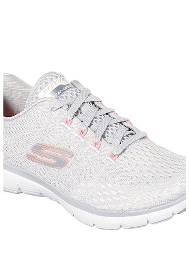 Skechers Flex Appeal 3.0 Satellites könnyű, kötött hálós anyagú sneaker női