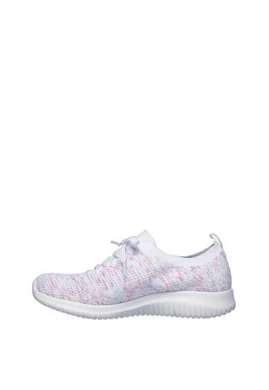 Skechers Pantofi sport slip-on cu aspect tricotat Ultra Flex Happy Days Femei