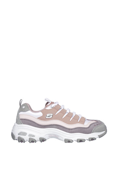Skechers Спортни обувки D'Lites Sure Thing с велур Жени