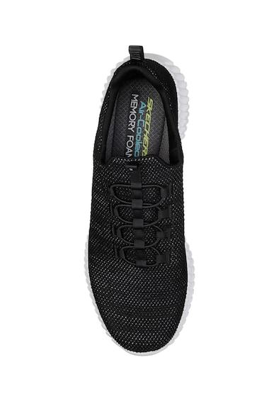 Skechers Pantofi sport slip on de plasa cu aspect tricotat Elite Flex Barbati