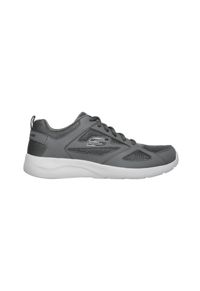 Skechers Pantofi sport de piele cu insertii textile Dynamight Barbati