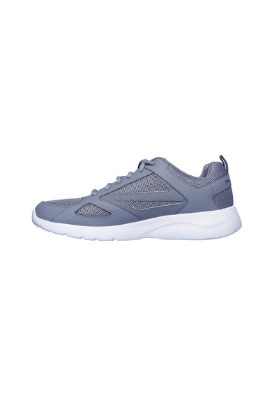 Skechers Pantofi sport de piele cu insertii din material textil Dynamight Barbati