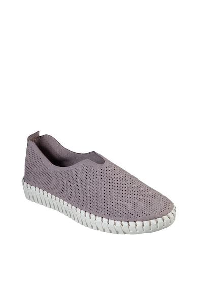 Skechers Simple Route bebújós cipő perforált dizájnnal női