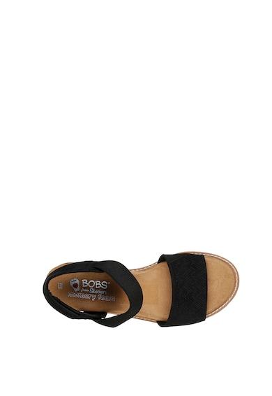 Skechers Sandale wedge de piele intoarsa Desert Kiss Femei