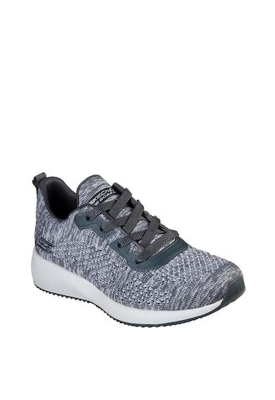 Skechers Pantofi sport din plasa tricotata, cu brant moale Bobs Squal Femei