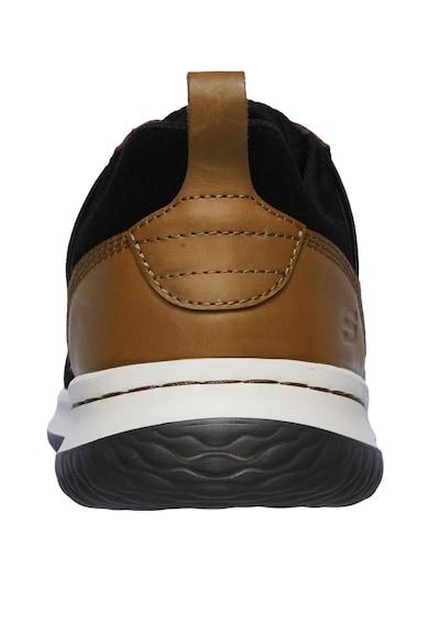 Skechers Спортни обувки Delson Brant с кожени елементи Мъже