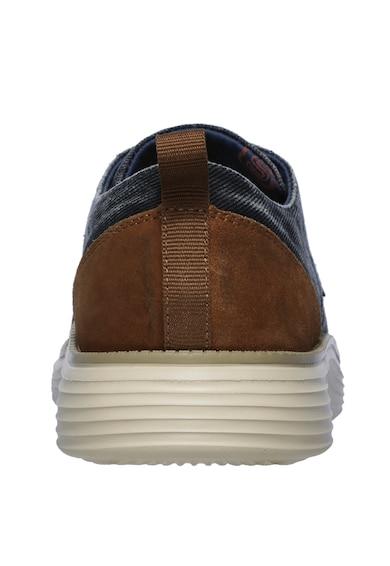 Skechers Обувки Status 2.0 с деним Мъже