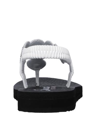 Skechers Sandale de piele ecologica cu bareta separatoare Meditation- Stars & Sparkle Femei