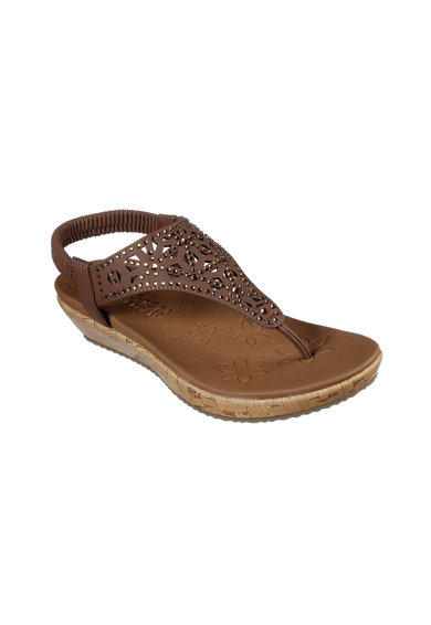 Skechers Sandale wedge cu With LuxeFoam® Brie Dally Femei