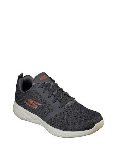 Skechers Pantofi sport din plasa tricotata Go Run 600- Circulate Barbati