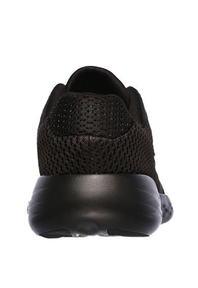 Skechers Pantofi sport de plasa cu aspect tricotat si amortizare Go Run 600 Refine Femei
