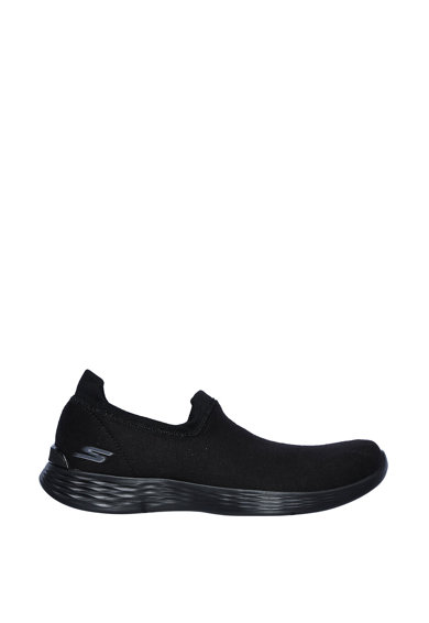 Skechers Pantofi sport slip-on din material usor You Define Femei