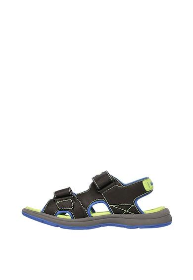 Skechers Sandale cu velcro si brant cu amortizare Sun Spurt Baieti