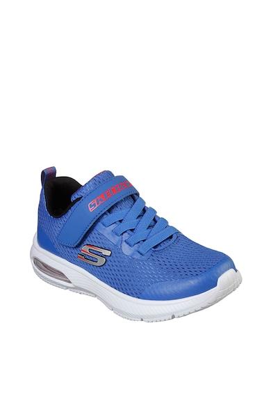 Skechers Pantofi sport cu velcro si imprimeu logo Dyna Air Baieti