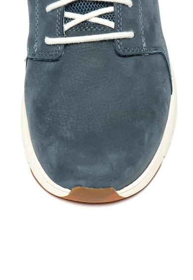 CAT Pantofi sport de piele nabuc, cu calapod lat Tenet Barbati
