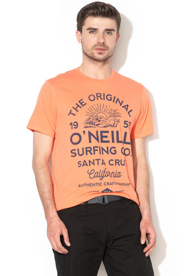O'Neill Tricou din bumbac organic cu imprimeu Muir Barbati