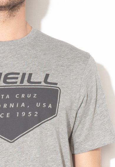O'Neill Tricou din bumbac organic cu imprimeu logo Cruz Barbati