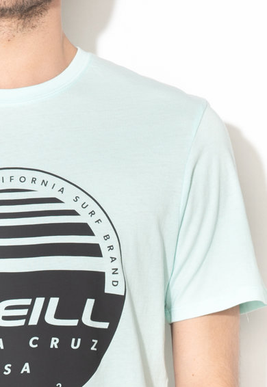 O'Neill Tricou din bumbac organic cu imprimeu logo Horizon Barbati