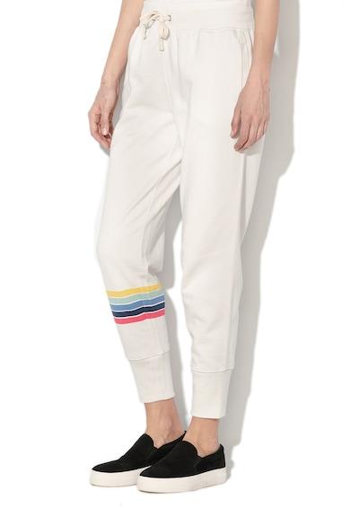 GAP Pantaloni jogger de in si fleece Femei