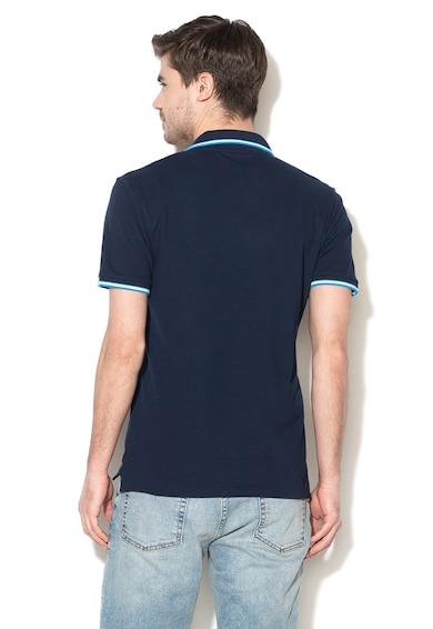 GAP Влагоотвеждаща тениска от пике с яка Мъже