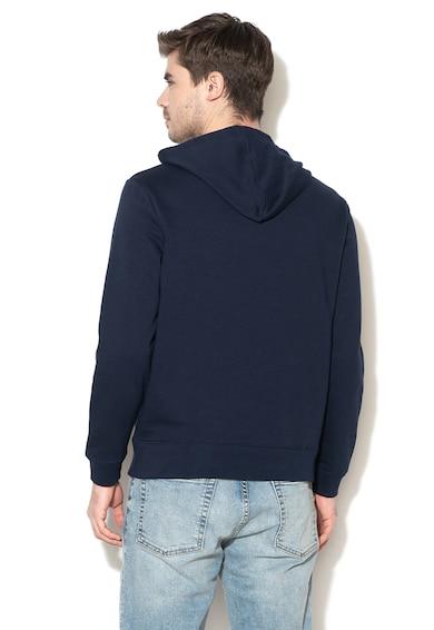 GAP Logómintás kapucnis pulóver kenguruzsebbel férfi