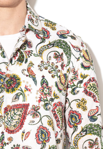 DESIGUAL Camasa slim fit cu imprimeu Axel Barbati