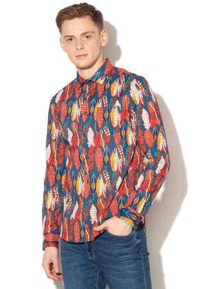 DESIGUAL Camasa regular fit cu imprimeu abstract Atwood Barbati