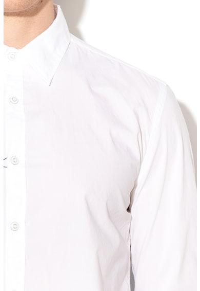 DESIGUAL Cedric absztrakt mintás slim fit ing férfi
