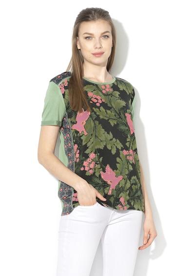 DESIGUAL Tricou cu model tropical Willem Femei