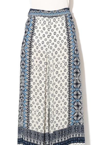 DESIGUAL Pantaloni cu croiala ampla si imprimeu Marian Femei