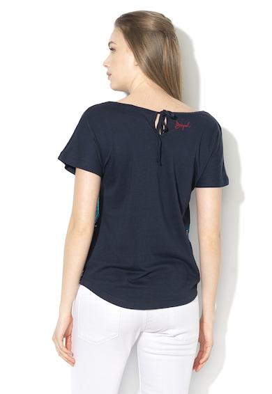 DESIGUAL Tricou din amestec de modal cu strasuri Uma Femei