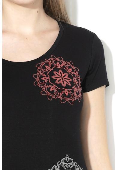 DESIGUAL Sonja mandalamintás póló női
