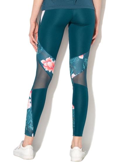 DESIGUAL Colanti cu imprimeu floral, pentru fitness Femei