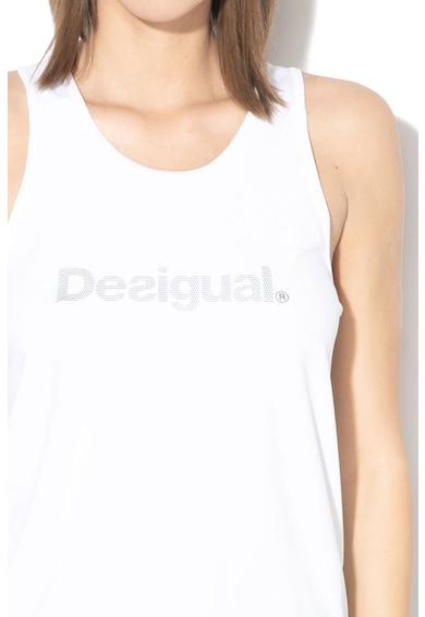 DESIGUAL Top cu imprimeu logo, pentru fitness Femei