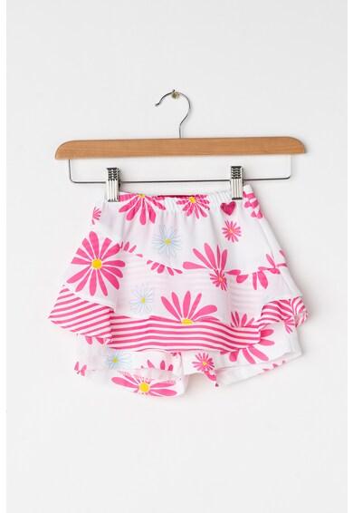 Agatha Ruiz de la Prada Fusta pantalon cu imprimeu floral Fete