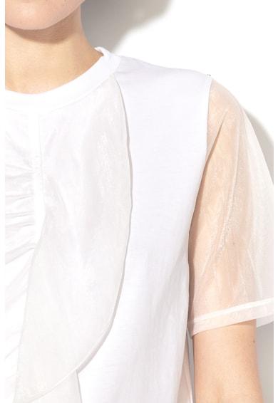 Sportmax Code Farento kerek nyakú felső hálós betétekkel női
