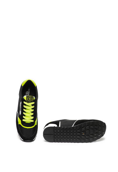 Trussardi Jeans Pantofi sport cu insertii de piele intoarsa Barbati