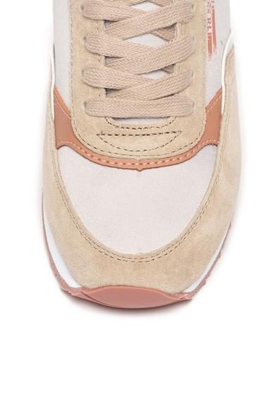 Trussardi Jeans Pantofi sport cu garnituri de piele intoarsa Femei