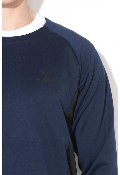 Hummel Bluza sport cu fermoar si logo cauciucat, pentru antrenament Ollie Barbati