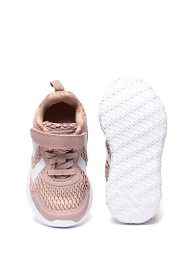 Hummel Pantofi sport de plasa, cu aspect tricotat Actus Fete