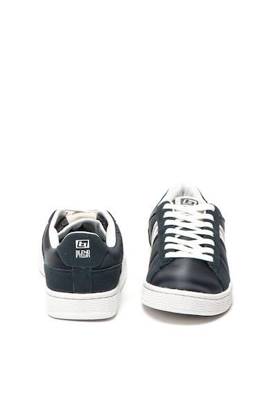 BLEND Sneaker nyersbőr részletekkel férfi