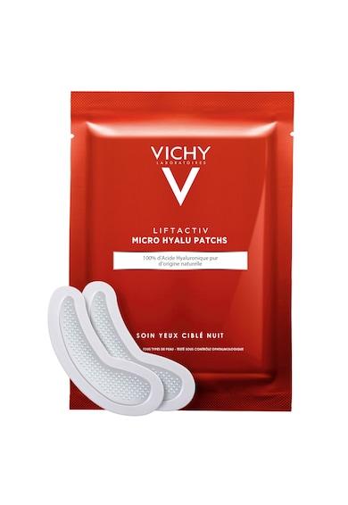 Vichy Plasturi antirid  LIFTACTIV Collagen Hyalu-Patches pentru zona ochilor 100% Acid Hialuronic, 1 Set x 2 plasturi Femei