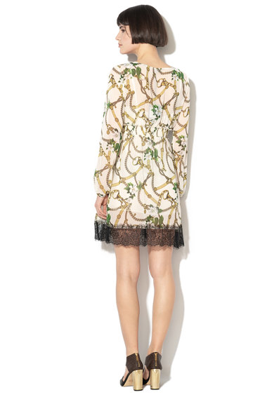 Liu Jo Grafikai mintás bővülő fazonú ruha női