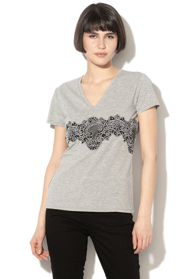 Liu Jo Csipkebetétes pólóW19431-J5003 női