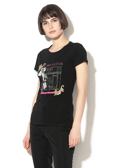 Liu Jo Grafikai mintás póló női