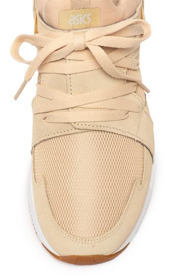 ASICS Tiger Pantofi sport de piele intoarsa si material textil Gel-Lyte Sanze Barbati