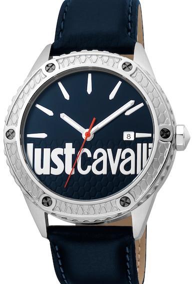JUST CAVALLI Ceas quartz cu logo pe cadran Barbati