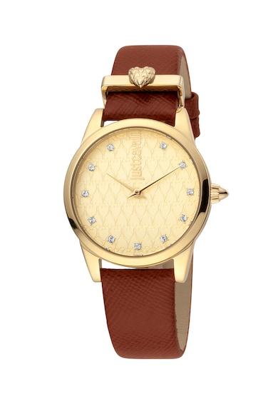 JUST CAVALLI Кварцов часовник с циркони Жени