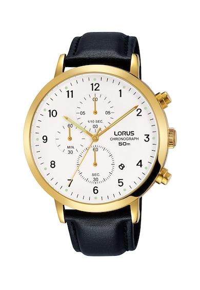 Lorus Ceas cronograf cu o curea de piele Femei